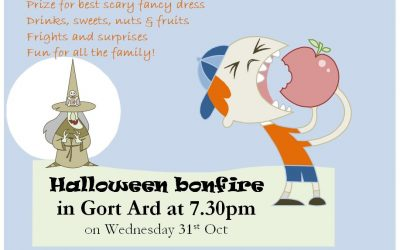 Halloween Bonfire for Families – Wed 31st Oct @ 7:30pm
